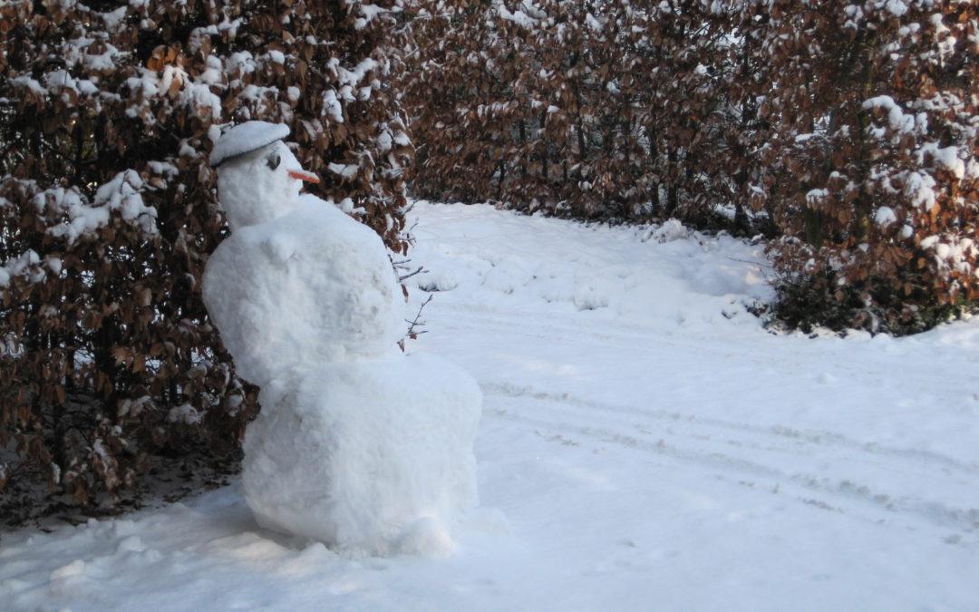 Inspiratie en sneeuw